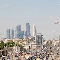 Москва-сити :: Владимир Болдырев