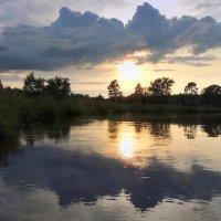 На закате крокодил солнце чуть не проглотил :: Павлова Татьяна Павлова