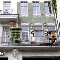 Голубятня на балконе :: Анна Воробьева
