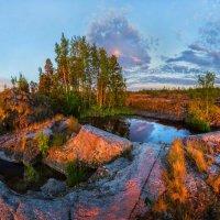 Остров с озером :: Фёдор. Лашков
