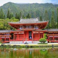 Японская пагода на Гавайях, Оаху. :: Ольга Петруша