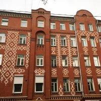 Узорные дома из кирпича :: Ekaterina Podolina