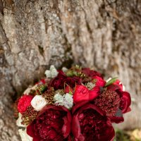 Страстный летний букет невесты :: Юлия Ржевская
