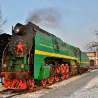 Паровоз П36-0120 :: Денис Змеев