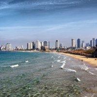 Тель-Авив вид с моря :: Валерий Баранчиков