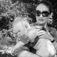 Мама с ребенком :: Darina Mozhelskaia
