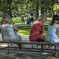 Сад, где обитают грации... :: Александр Лебедевъ