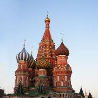 Покровский собор на рву _ храм Василия Блаженного :: Анна Воробьева