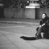 Уличный музыкант :: Олеся Ефанова