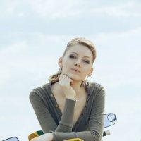 Девушка мотоцикле :: Иван М