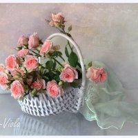 Корзина с розами :: lady-viola2014 -