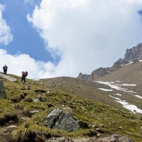 поход в горы :: Горный турист Иван Иванов