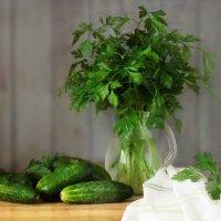 Зелененькие прямо с грядки :: SaGa