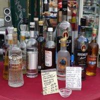 Русский уголок на  рождественском рынке в Вене :: Михаил Сбойчаков