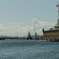 Военный флот под крепостью.. :: tipchik