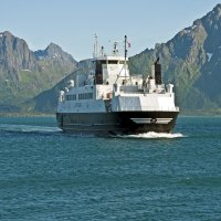 Ferry in Norwegian Sea :: Roman Ilnytskyi