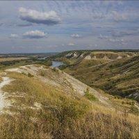 На меловых холмах Август 2014 :: Юрий Клишин