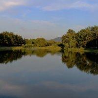 Есть в старом парке тихий пруд... :: Марина Белоусова