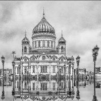 Храм Христа Спасителя... :: Юрий Яньков