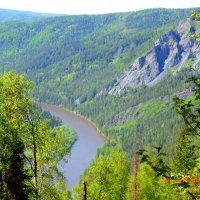 Река и горы :: Вадим Басов