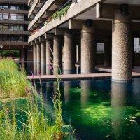 Жилой комплекс Барбикан в Лондоне. Стиль брутализм :: Sofia Rakitskaia