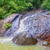 Таиланд. Национальный парк. Водопад. :: Elena Izotova
