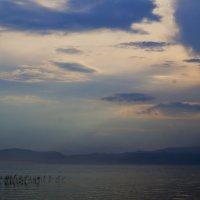 Охридское озеро. Этюд в синих тонах :: Gal` ka