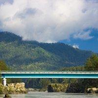 Мост над Катунью. :: Борис Яковлев