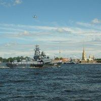 Репетиция парада на день ВМФ :: tipchik