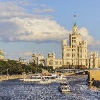 Москва. Высотка. :: В и т а л и й .... Л а б з о'в