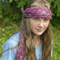 Девочка-подросток на природе. :: Евгения Бакулина