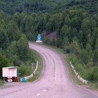 Дорога в Казахстан . :: Мила Бовкун