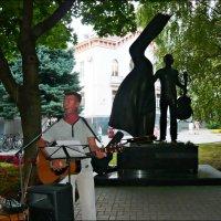 Концерт, посвященный дню памяти поэта,барда и актера :: Надежда