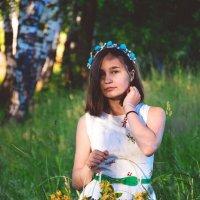 Цветочная леди. 2. :: Александра Юдаева