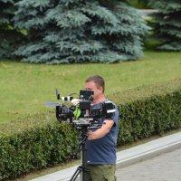 На съёмке. :: Paparazzi