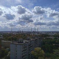 Облака - белогривые лошадки :: Алексей Батькович