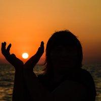 Солнце в ладошках :: Виктория Гавриленко