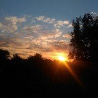Красивый летний закат :: Оксана Романова