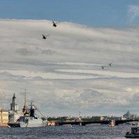 Репетиция парада ко дню ВМФ :: Вера Моисеева