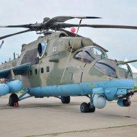 Ми-35М – второе рождение «Крокодила» :: Алексей Михалев