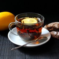Любимый чёрный чай с лимоном :: Валерий Хинаки