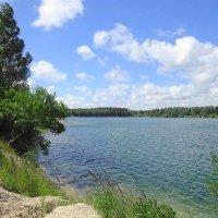 Утром на озере прозрачный воздух и красота вокруг :: Маргарита Батырева