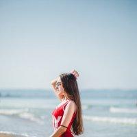 девушка и море :: Марина Алексеева