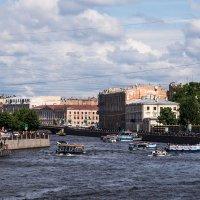 Питер. Вид на Фонтанку с Аничкова моста :: Ruslan
