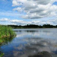 Утонуло облако в воде :: Милешкин Владимир Алексеевич