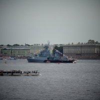 Корабли на Неве к Дню ВМФ. :: Светлана Калмыкова