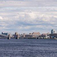 Нева. Вид с моста Александра Невского :: Ruslan
