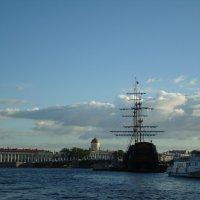 Привет ПИТЕРУ в день ВМФ России :: марина ковшова