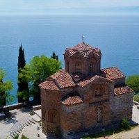 Озеро Охрид. Византийская церковь :: Gal` ka