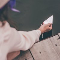 Кораблики... :: Оксана Чёрная